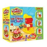 TOKO MAINAN EDUKASI Fun Doh Ice Cream Factory - Clay and Dough
