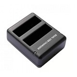 TOKOCAMZONE Dual Charger USB for Gopro Hero4 [AHDBT-401] (Merchant) - Camcorder Power Adapter and Charger