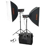 TOKOCAMZONE Paket GoldenShell EC-400 Softbox - Lighting System Kit