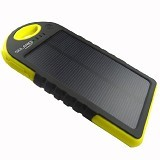 TOKOSANDI Power Bank Solar 88000mAh - Yellow - Portable Charger / Power Bank