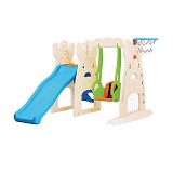 TOMINDO Grow N Up Scramble Slide Swing Playcenter - Swings, Slides and Gyms