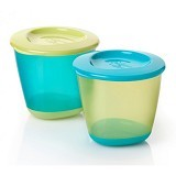 TOMMEE TIPPEE 2 Pack Pop Up Weaning Pot [TT/06/014-green] - Green - Media Penyimpanan Susu dan Makanan Bayi