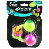TOMMEE TIPPEE Double Rolling Ball Rattle [TT/07/014 - 455534] - Rattle