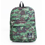 TONGA Tas Ransel Kasual [31HA011508] - Green Army (Merchant) - Backpack Pria