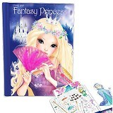 TOP MODEL Create your Fantasy PrincessColouring Book [TM7988] - Buku Seni Gambar