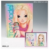 TOP MODEL Make Up Colouring Book [TM 6921] - Buku Seni Gambar