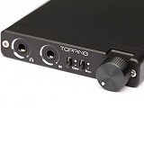 TOPPING Portable Headphone Amplifier [NX3] - Black (Merchant) - Audio Interface