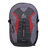 TORCH Cork 2.1 - Dark Grey Red (Merchant) - Notebook Backpack