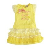 TORIO Golden Field Stylish Dress Size 12M - Dress Bepergian/Pesta Bayi dan Anak