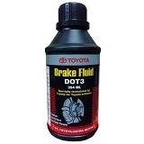 TOYOTA Genuine Parts DOT 3 Brake Fluid 354 ml - Minyak Rem Mobil