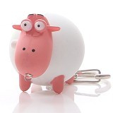 RIDISTA Gantungan Kunci Lampu LED & Suara Domba [T270] - Gantungan Handphone