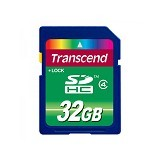 TRANSCEND SDHC 32GB [TS32GSDHC4] - Secure Digital / Sd Card