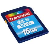 TRANSCEND Wi-Fi SDHC 16GB - Class 10 - Secure Digital / Sd Card