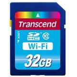 TRANSCEND Wi-Fi SDHC 32GB - Class 10 - Secure Digital / Sd Card