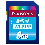 TRANSCEND Wi-Fi SDHC  8GB - Secure Digital / Sd Card