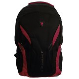 TREAKING Criciano Backpack with Laptop Slot + Rain Cover - Red (Merchant) - Notebook Backpack