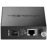TRENDNET Intelligent 1000Base-T to SFP Media Converter [TFC-1000MGB] - Network Converter
