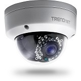 TRENDNET Outdoor 3MP Full HD PoE Dome Day/Night Network Camera [TV-IP311PI] - IP Camera