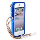 TRIGGER Case iPhone 5/5s - Blue - Casing Handphone / Case