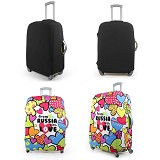 "TRIPLE8 Elastic Luggage Cover 24"" - Cover Bag / Pelindung Tas"