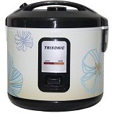 TRISONIC Magic Com 1.8 L [T-707] - Flower Blue - Rice Cooker