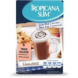 TROPICANA SLIM Non Fat Chocolate 500gr - Susu Bubuk & Kemasan