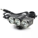 TRUSTFIRE LED Bicycle Light 3x Cree XM-L2 1200 Lumens [TR-D012] - Lampu Sepeda