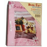 TULIP Album Photo Teddy Bear TW 3R100 - Pink - Photo Album