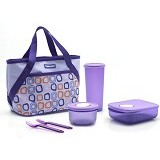 TUPPERWARE Cosmo Violet - Lunch Box / Kotak Makan / Rantang
