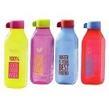 TUPPERWARE Eco Bottle Square 500ml 1Pc - Botol Minum
