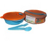 TUPPERWARE Fancy Crystalwave Lunch Set - Lunch Box / Kotak Makan / Rantang