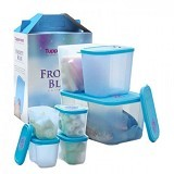 TUPPERWARE Frosty Blue Collection - Wadah Makanan