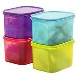 TUPPERWARE Mini Rect High 1Pc - Wadah Makanan