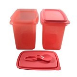 TUPPERWARE New Shelf Saver 2 pcs - Wadah Makanan