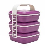 TUPPERWARE Picnic Set Trio - Lunch Box / Kotak Makan / Rantang