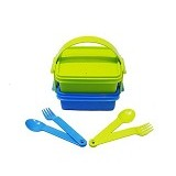 TUPPERWARE Small Carry All Set - Lunch Box / Kotak Makan / Rantang