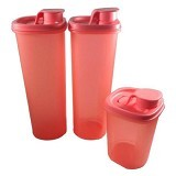 TUPPERWARE Smart Saver Round Set 3 Pcs - Wadah Makanan