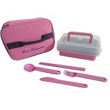 TWIN TULIPWARE Female Box - Lunch Box / Kotak Makan / Rantang