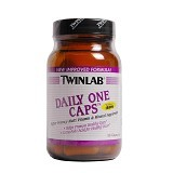 TWINLAB Daily One without Iron 60 Tablets - Suplement Peningkat Metabolisme Tubuh