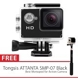 TWOBROTHERS Sport Cam A8 + Attanta Monopod SMP-07 (Merchant) - Camcorder / Handycam Flash Memory