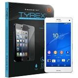 TYREX Sony Xperia Z3 Compact Tempered Glass Screen Protector (Free Plastic Back Protector) - Screen Protector Handphone