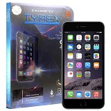 TYREX Apple iPhone 6 Plus Tempered Glass Screen Protector (Free Plastic Back Protector) - Screen Protector Handphone