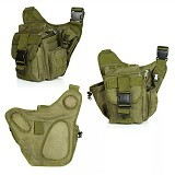 Tactical Tas [012] - Green (Merchant) - Tas Pinggang/Travel Waist Bag