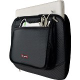 ULTIMATE Tas Laptop Single Diamond MX 14 Inch - Black - Notebook Carrying Case