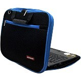 ULTIMATE Tas Laptop Double New RX 14 inch - Blue - Notebook Shoulder / Sling Bag