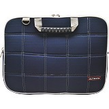 ULTIMATE Tas Laptop Double SL 14 inch - Navy - Notebook Shoulder / Sling Bag