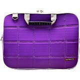 ULTIMATE Tas Laptop Double SL 14 inch - Purple - Notebook Shoulder / Sling Bag