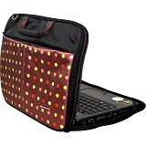 ULTIMATE Tas Laptop Double Pro Dot 14 Inch - Brown - Notebook Carrying Case