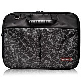 ULTIMATE Tas Laptop Double Pro Leaf 14 Icnh - Black - Notebook Carrying Case