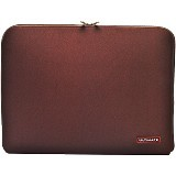 ULTIMATE Tas Laptop Plain Classic 14 inch - Brown - Notebook Sleeve